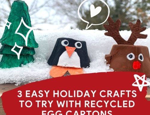 3 Easy Holiday Crafts To Try With Recycled Egg Cartons