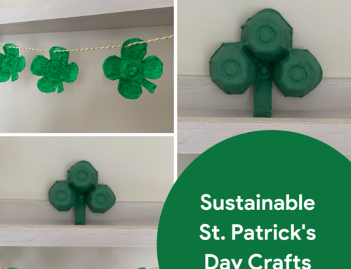 Sustainable & Plastic-Free St Patrick's Day Crafts
