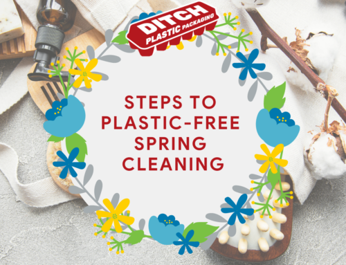 Steps To Plastic-Free Spring Cleaning