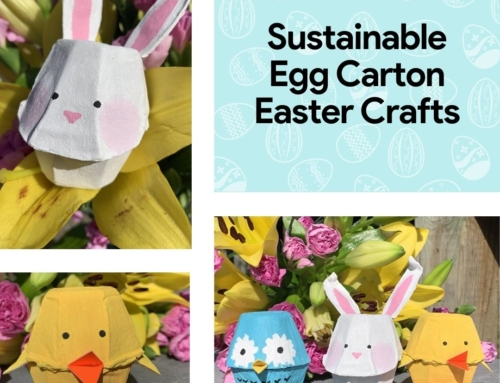 Sustainable Egg Carton Easter Crafts